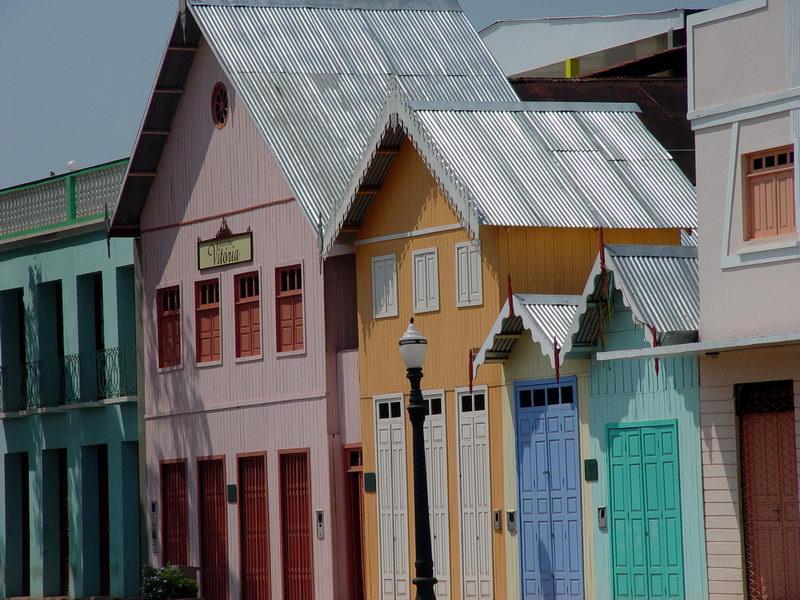 Antiga vila de casas recuperada pelo governo do estado