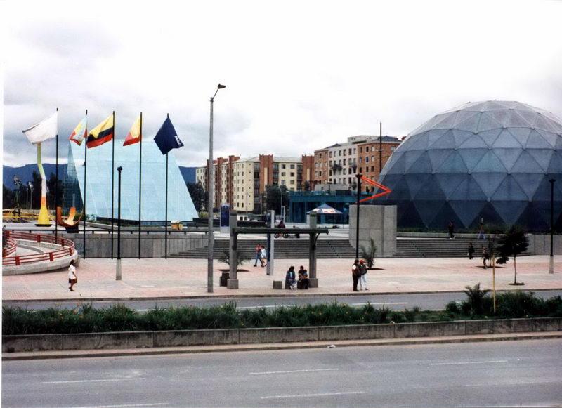 Museu de ciências próximo ao Hotel, se chamava Maloka