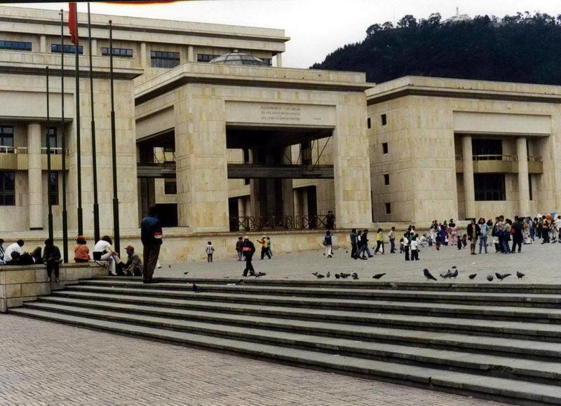 A sede do judiciário