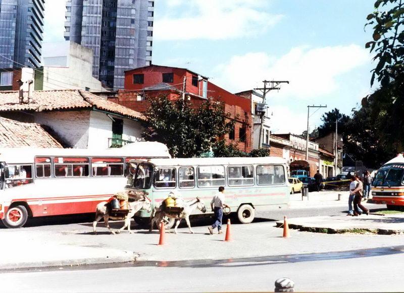 Imagens do centro de Bogotá