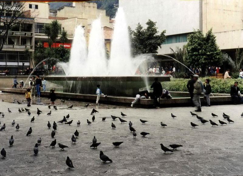 Uma praça