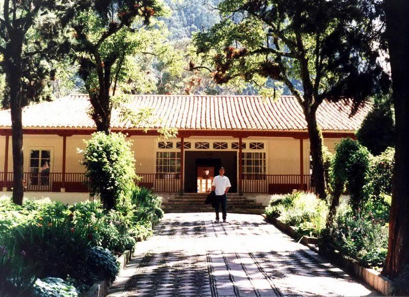 A 'casa de Bolívar', onde Simóm Bolívar, libertador da América andina, ficou quando 'libertou' a Colômbia