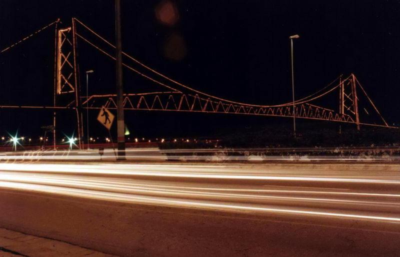 Avenida Beira Mar Norte, à noite