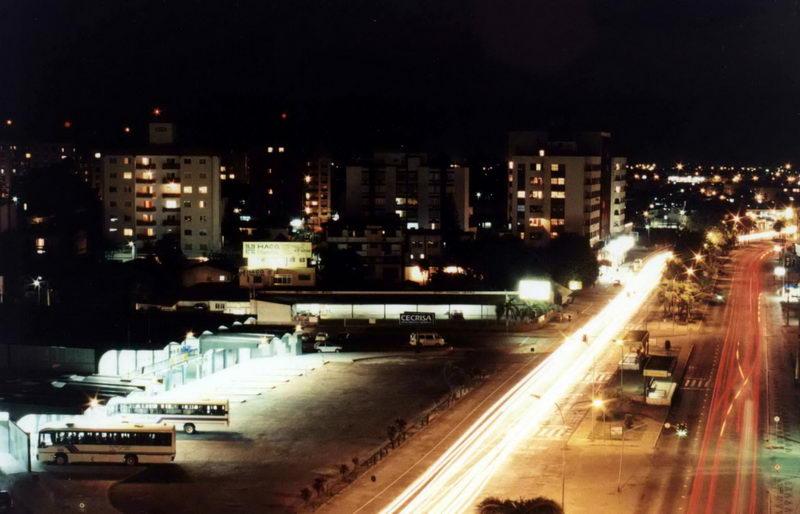 Vista a Avenida Centenário, de Criciúma