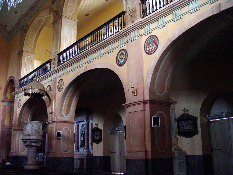 Interior da Matriz