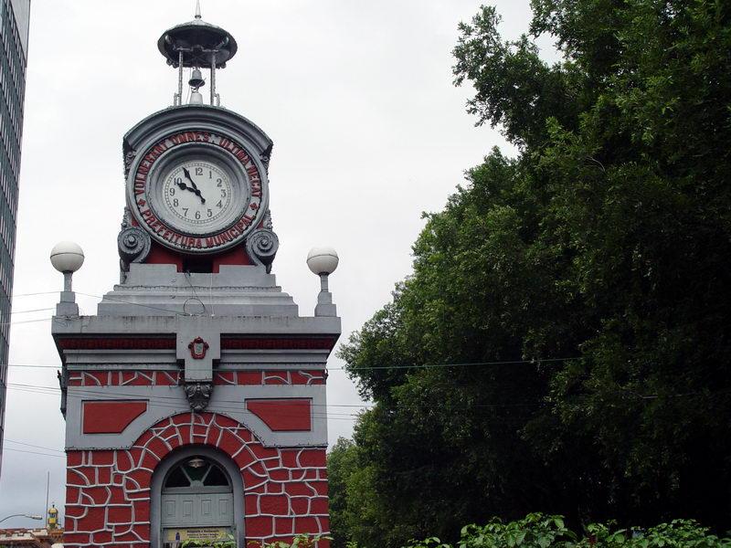 Relógio no centro da cidade