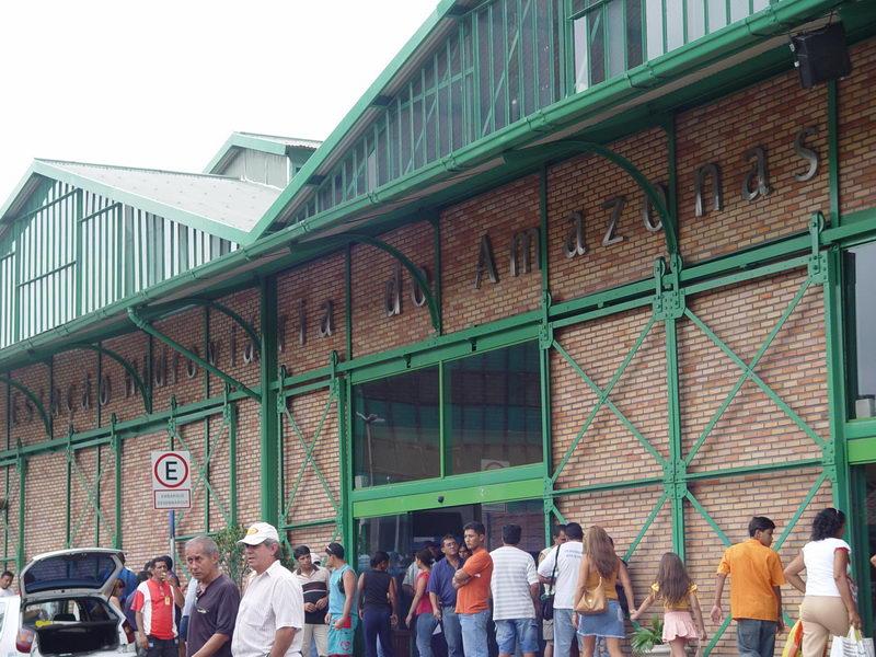 Estação Hidroviária do Amazonas, a rodoviária deles, uma vez que de carro ou ônibus é muito difícil chegar a Manaus