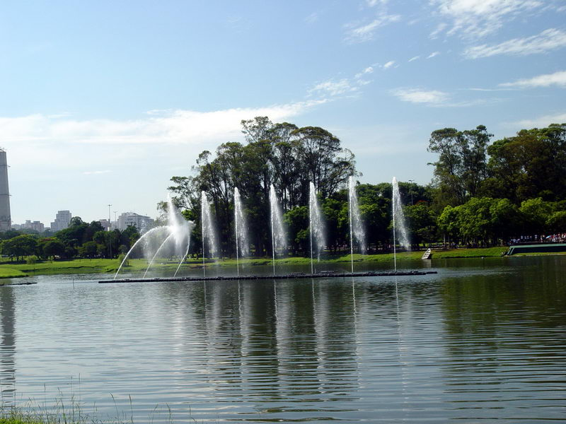 Fonte no Parque do Ibirapuera