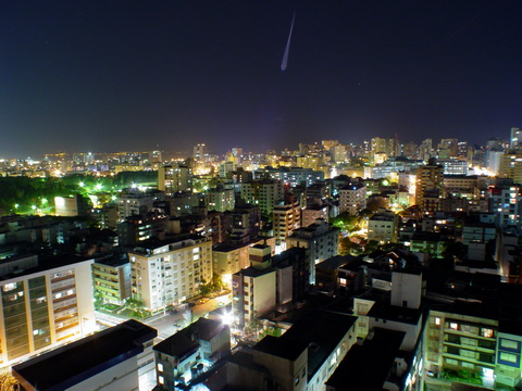 Porto Alegre at Nigth