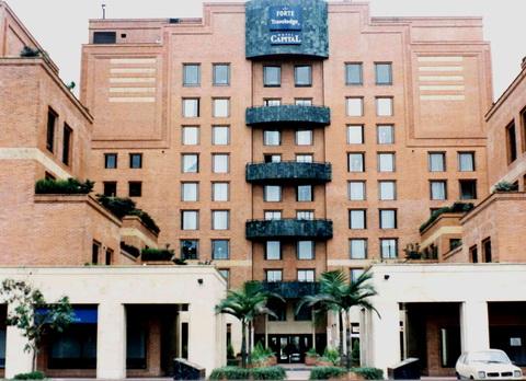 O Hotel, o Fort Captal, um dos melhores que eu já fiquei...