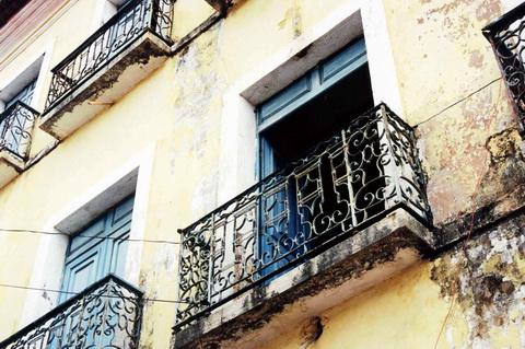 Sacada do Centro Histórico de São Luiz