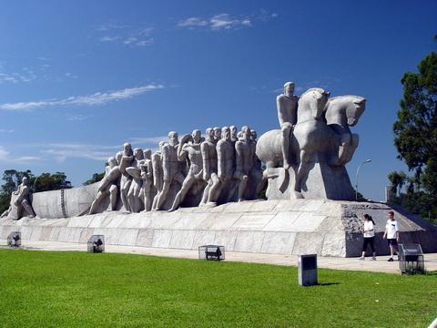 Monumento as Bandeiras - SP