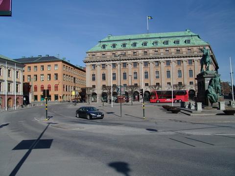 Edificação no centro da cidade